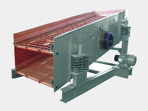 SZZ series self-centering vibrating screen